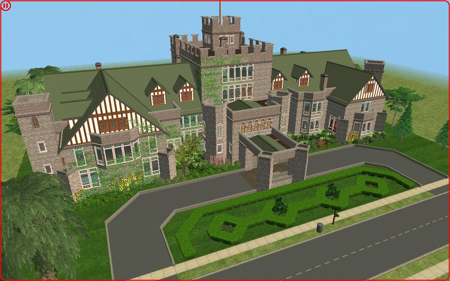 The Sims 3 Castle Floor Plans