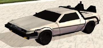 Mod The Sims Mesh Ep Ready Back To The Future Delorean