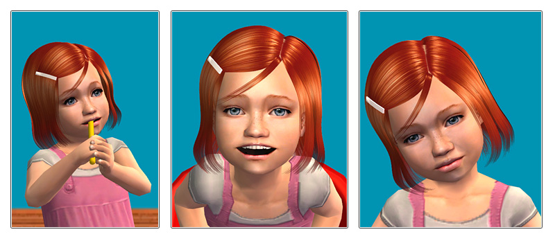 Mod the sims sophia toddler by oepu