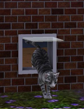 Sims  Cat Eats