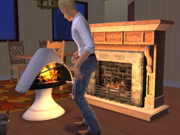 Download ... - Mod The Sims - CLONE Templates (UPD 26feb2007) - Fireplaces With