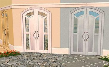 Mod The Sims Double French Door New Mesh