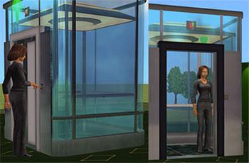 Как сделать в симсе 3 лифт