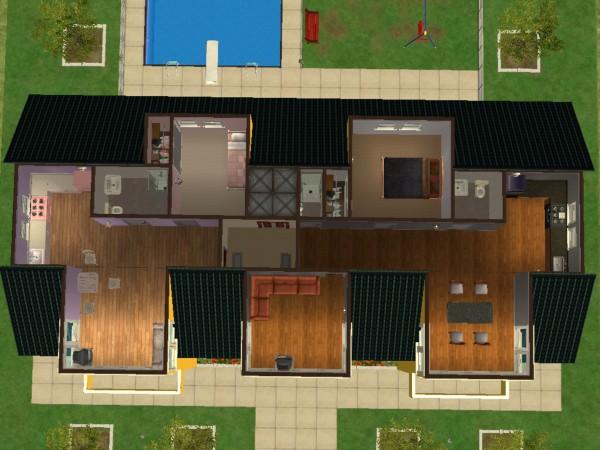 D cher bauen seite 4 sims 2 bau forum - Sims 4 dach bauen ...