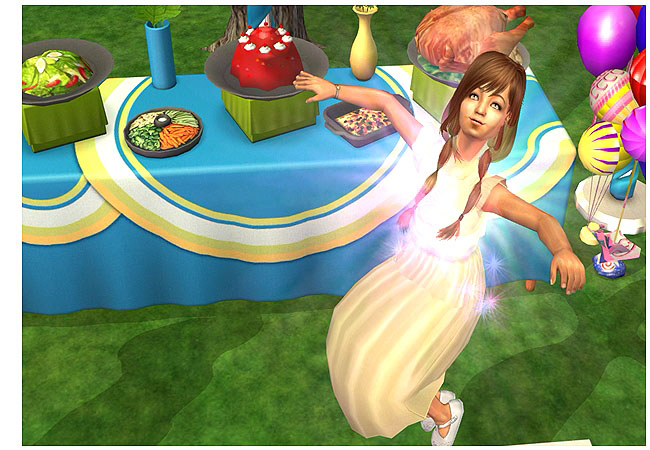 how to hold a birthday party sims 3