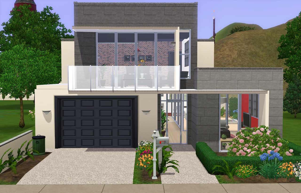 algunas ideas de casas para los sims 3 taringa