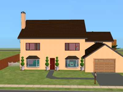 Mod The Sims The Simpsons House