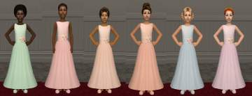 Sims 4 white dress 5th