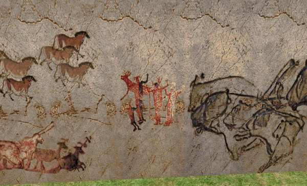 Mod The Sims Neanderthal Lascaux And Altimira Cave Art