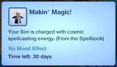 Sims 3 Magic Spell Book