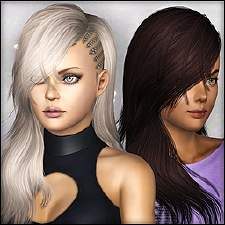 Mod The Sims Downloads Create A Sim Hair Female