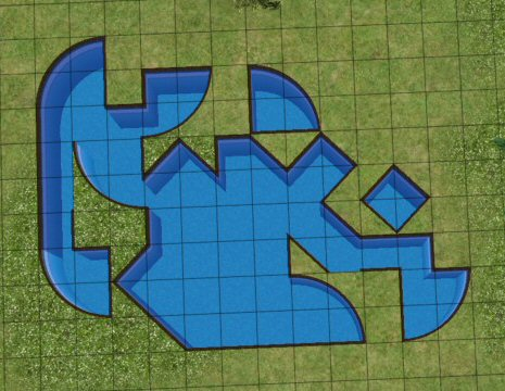 Mod the sims ss pool odd shapes d for Pool design sims 3