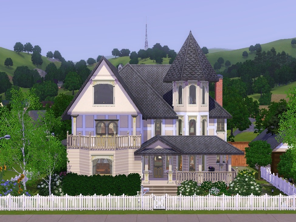 Mod The Sims Verity A Victorian Styled House
