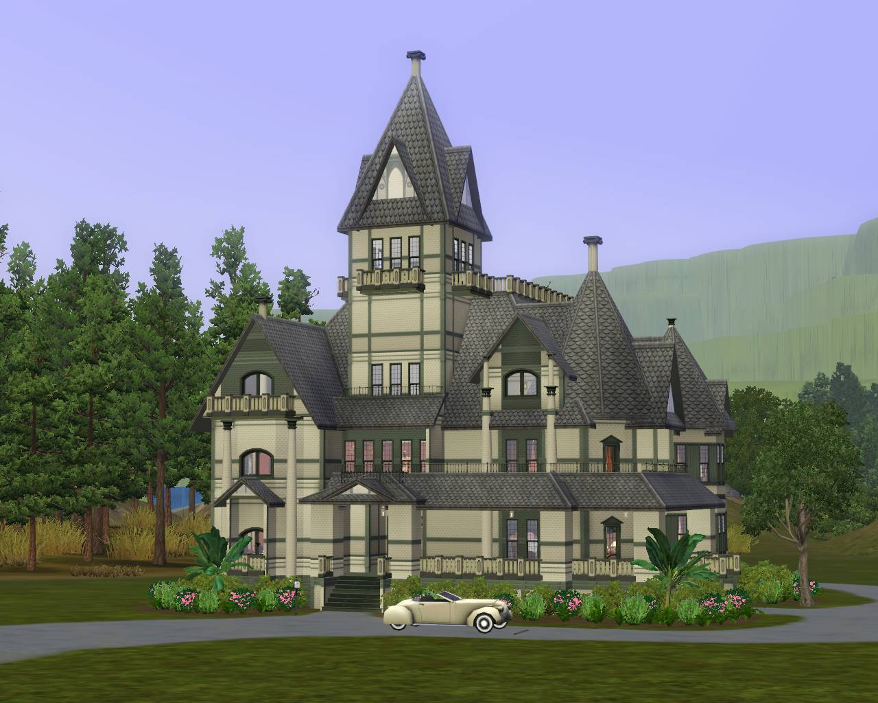 Mod The Sims Carson Mansion