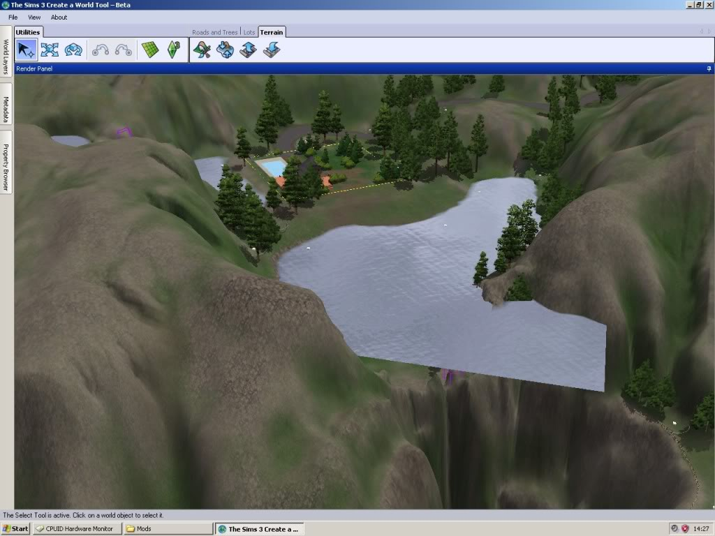 Mod the sims water levels from twinbrook and bridgeport i can also demonstrate this in bridgeport opened in caw if i flatten the wall of the waterfall lake then save and reload i have a flood just like hp publicscrutiny Gallery