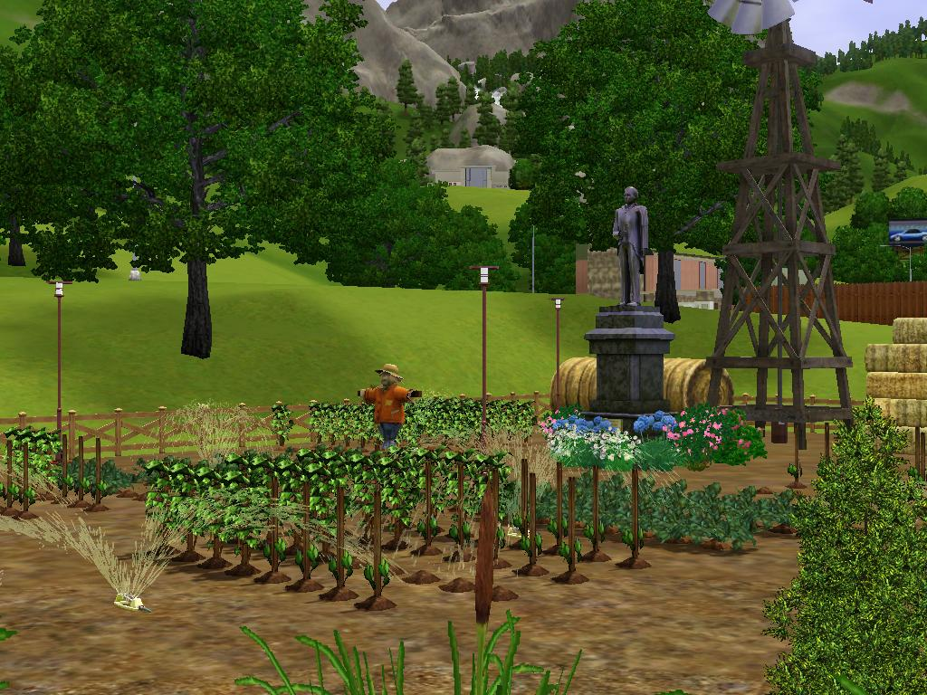 Mod The Sims Hopewell Farm With All The Plants And Trees