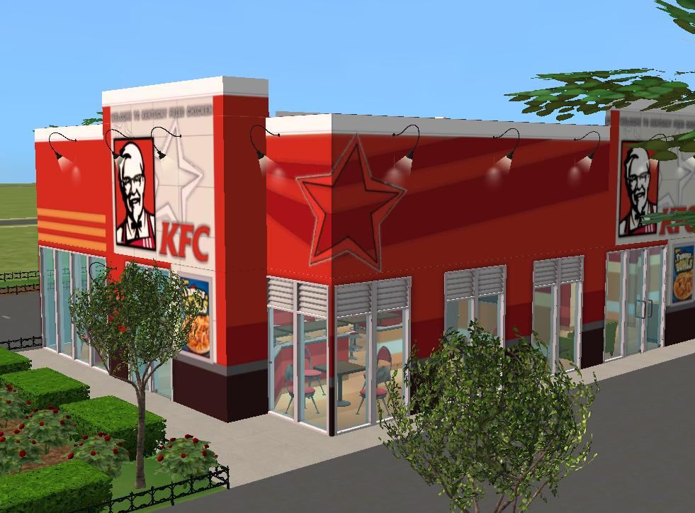 Mod the sims kentucky fried chicken restaurant