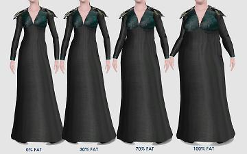Robe pull sims 4
