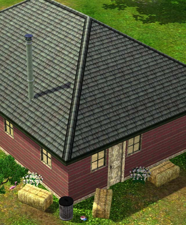 Mod The Sims Wrecked Roofing