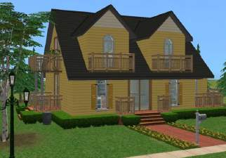 Excellent Mod The Sims Simple Way 5 Base Game Family House No Cc Largest Home Design Picture Inspirations Pitcheantrous