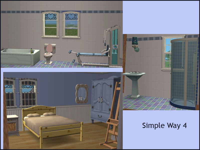 Mod the sims affordable base game family cottage for Garden room 2x3