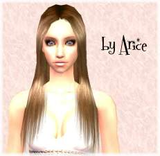 Mod The Sims - Natural straight long hair of XMSims2 mesh