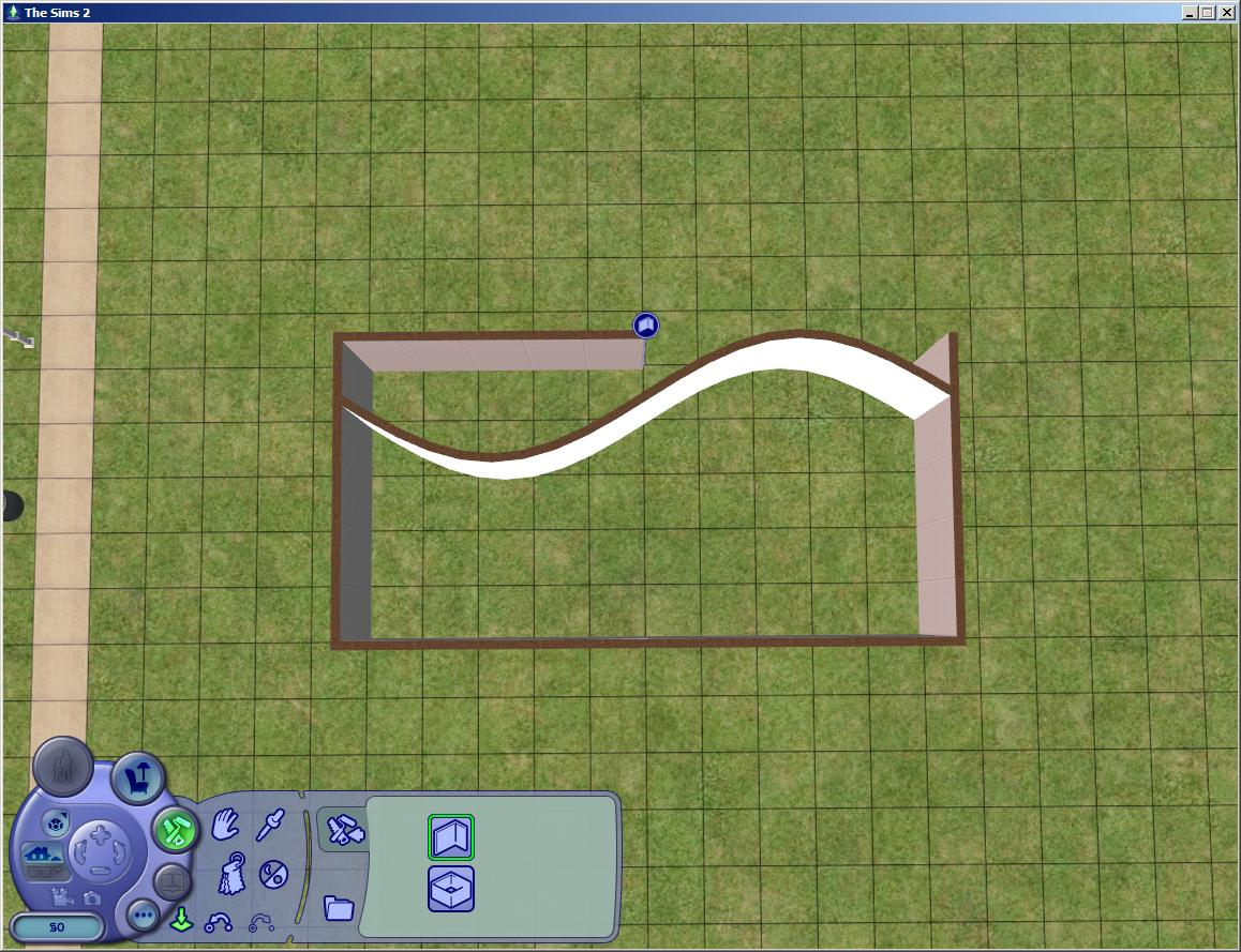 Curved wall sims 4 studio for Curved wall