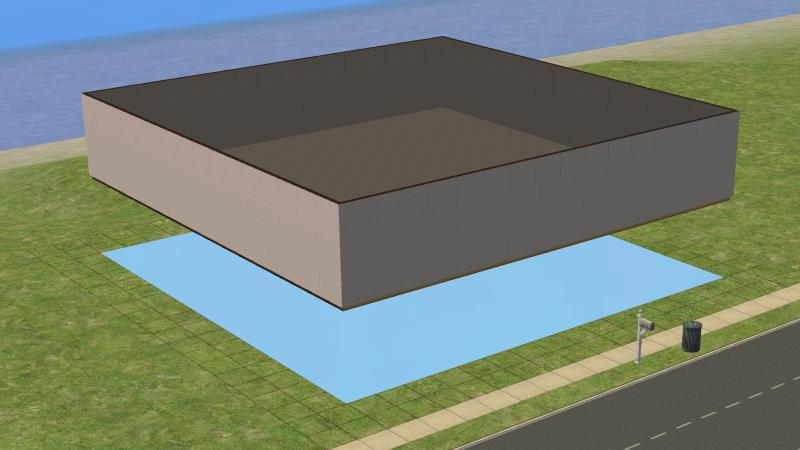 Sims 2 Constrain Floor Elevation Tutorial : Mod the sims tutorial sunken true basement without