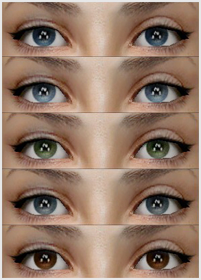 Mod The Sims Defaults Seasons Eyes By Bruno