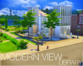 Mod the sims modernview library for Modernview homes
