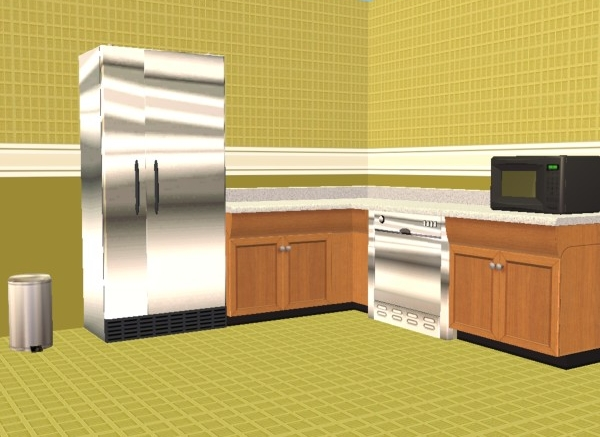 Mod the sims garden tile walls and floors perfect for for Perfect kitchen and bath