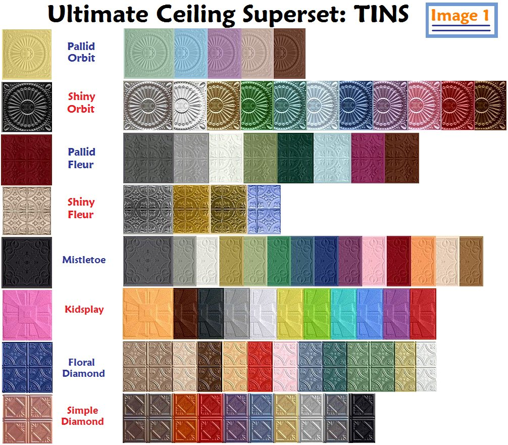 Mod The Sims Ultimate Ceiling Sut Part 2 Of 7 212 Tin Ceilings Floors