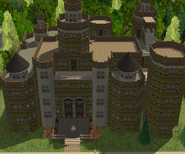Mod The Sims Harry Potter Collection Hogwarts Larger