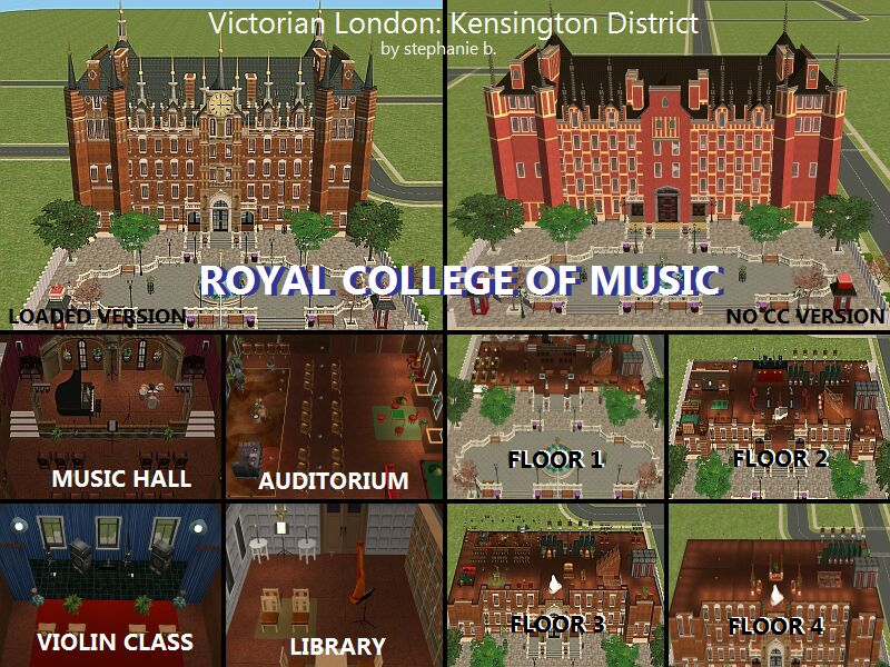 Mod The Sims Victorian London Part 1 The Kensington