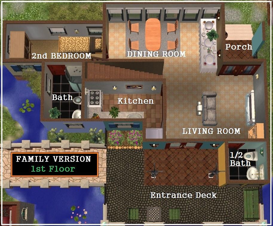 the sims 2 floor plans - escortsea