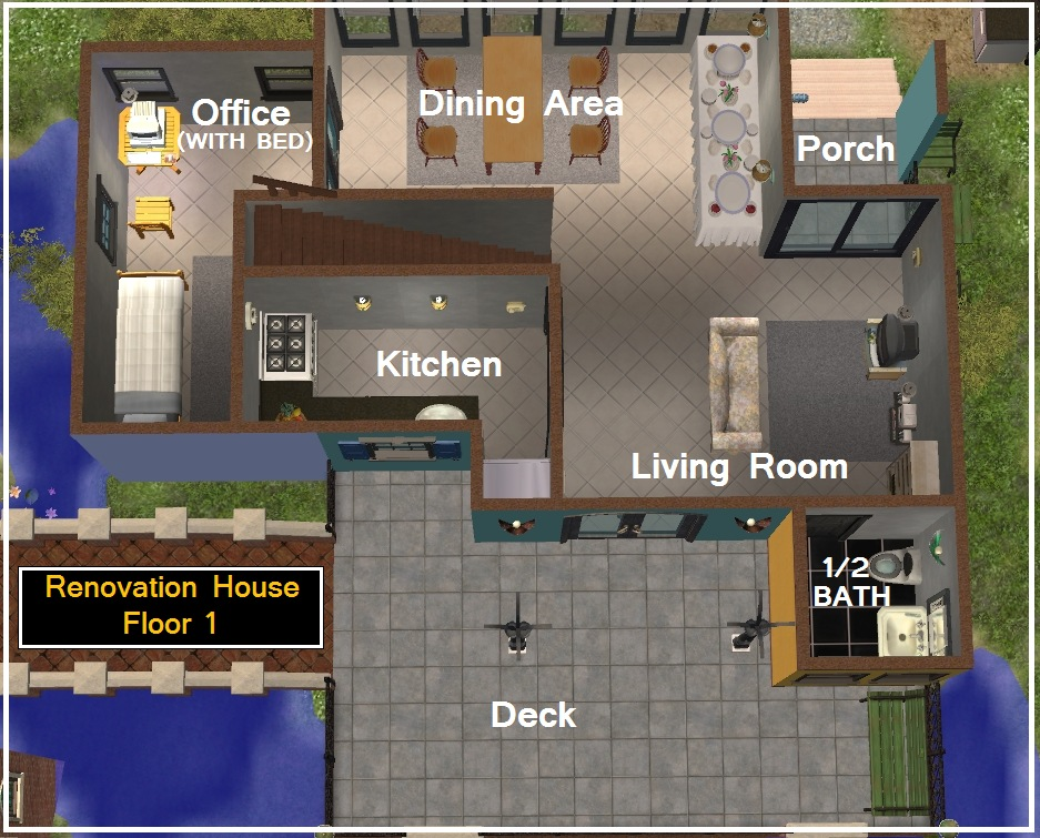 22 Decorative Sims 2 House Floor Plans Architecture