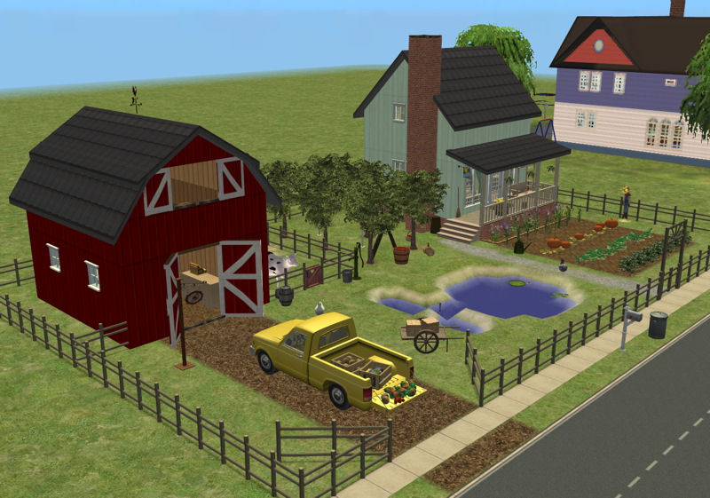 Mod the sims wise acre farm for 1 acre farm layout