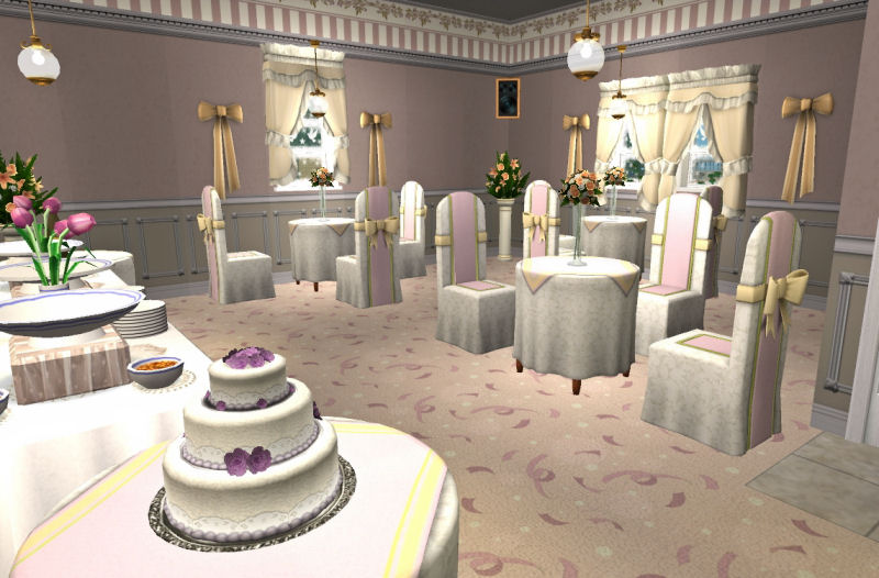 Mod The Sims Apple Grove Wedding Chapel