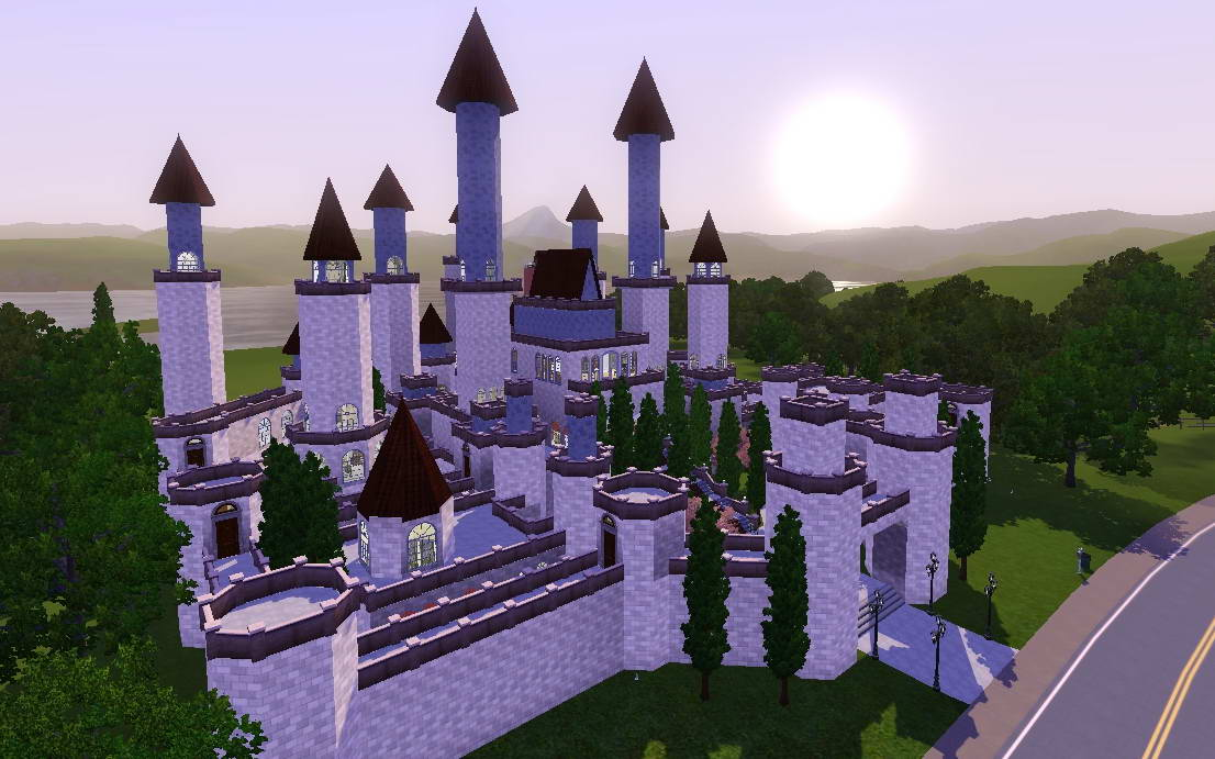 king or queen with this newly build castle your king and queen can