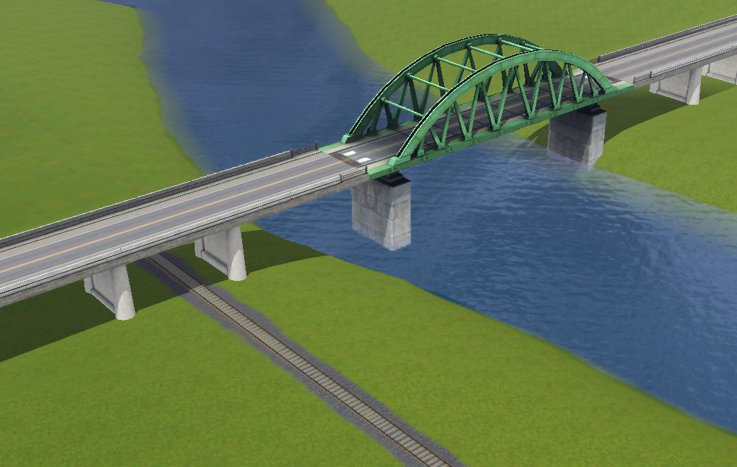 Mod The Sims - Routing under the bridge