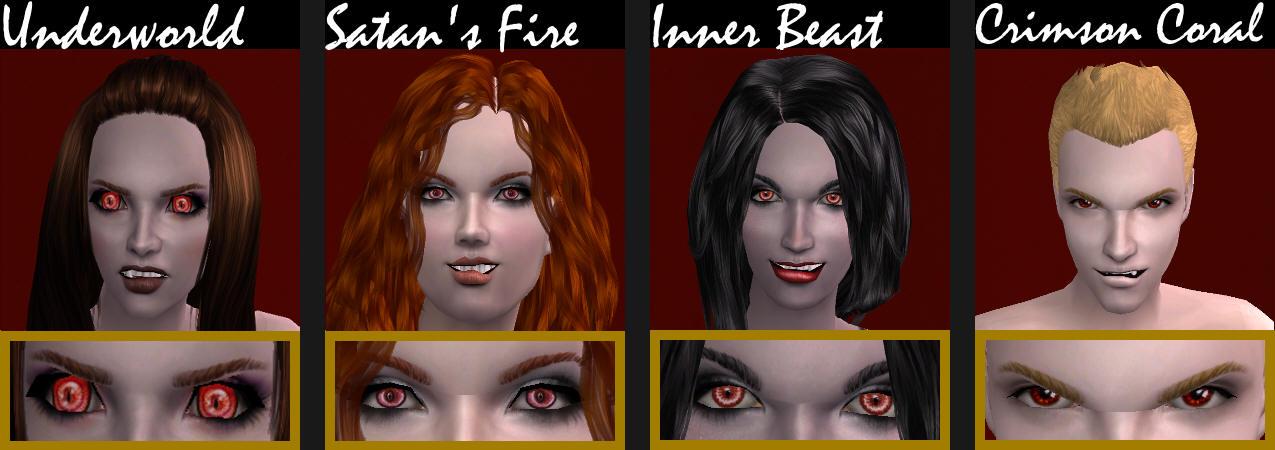 Как сделать симса вампира в симсе 2 67