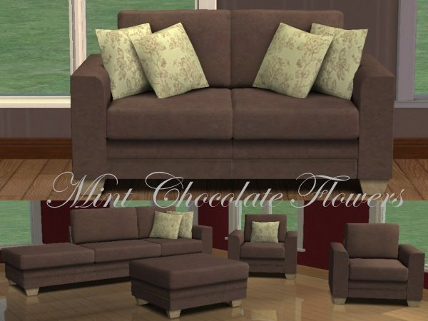 Mod the sims 6 recolours of blake boys annie modular sofa for Sectional sofa sims 3
