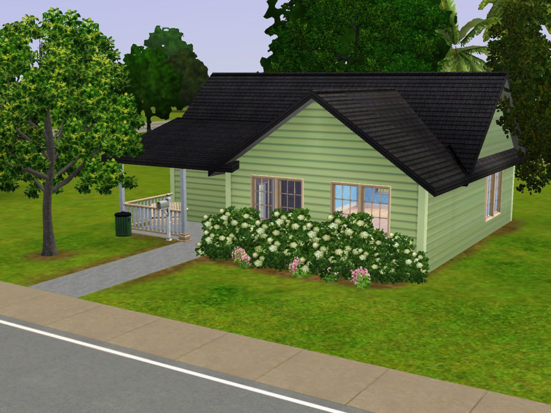 21 surprisingly simple sims 3 house plans building plans for Minimalist house the sims 3