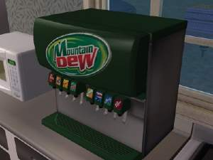 Mod The Sims Functioning Soda Machine Mountain Dew