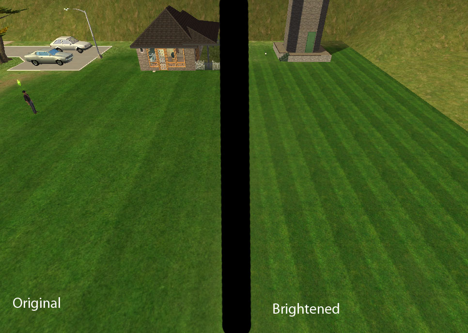 Mod The Sims Brighter Fancy Mowed Grass From M G Works