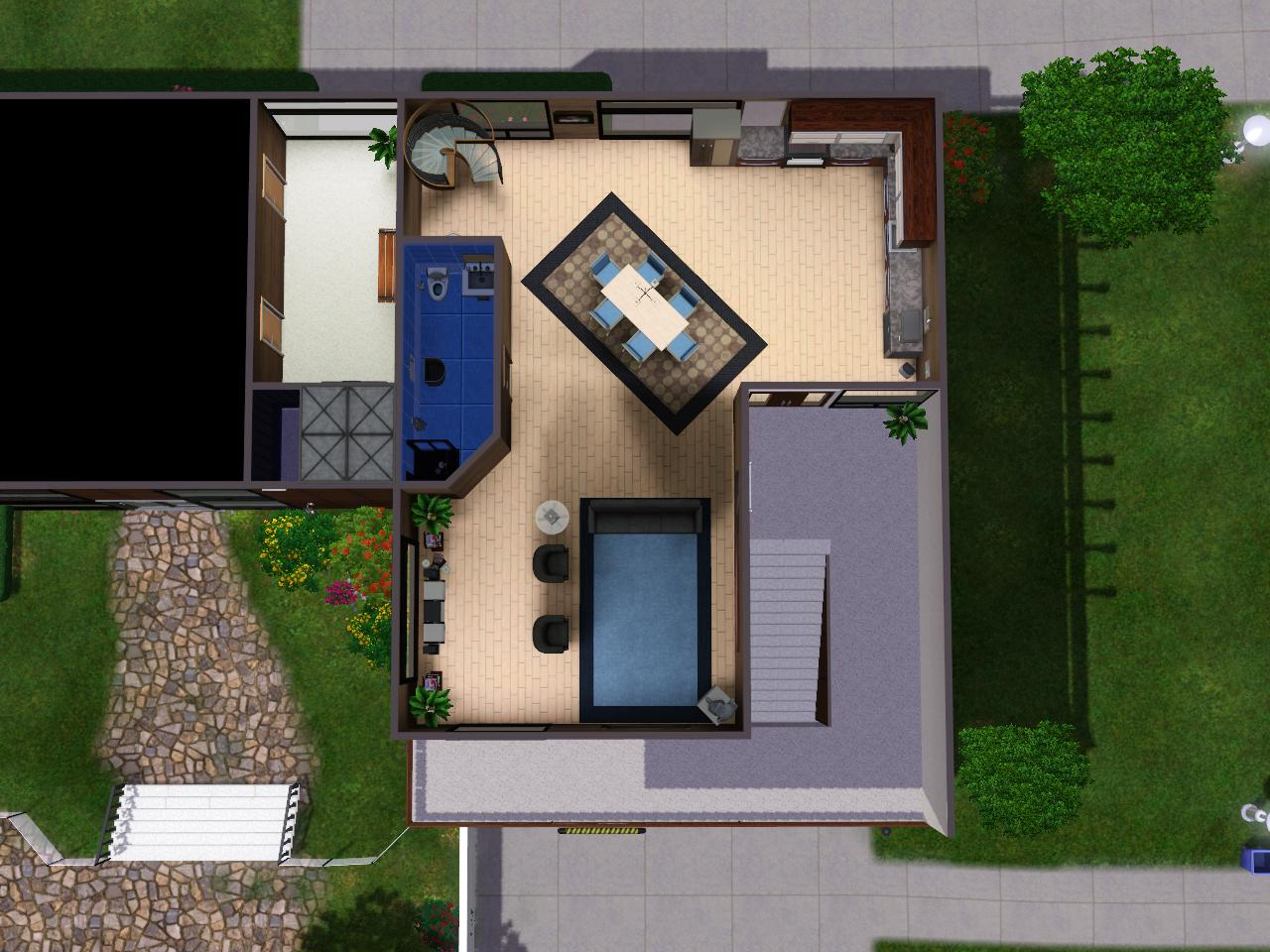 Mod the sims sc 186 luxury apartment for Hope kitchen bridgeport ct