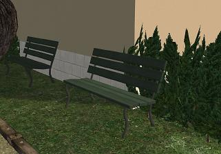 Mod The Sims Maxis Piece Of Quiet Park Bench Now With