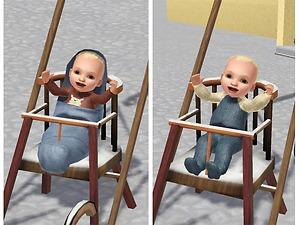 Mod The Sims Sleigh For Toddlers