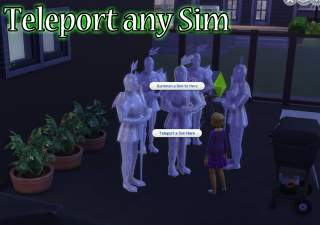 Mod The Sims Outdated Teleport Any Sim