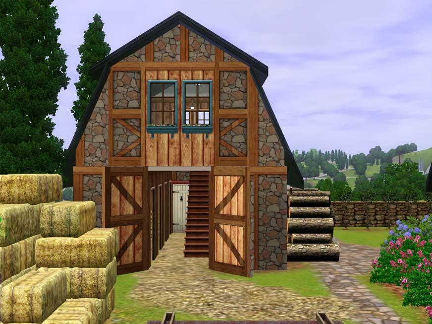 Mod the sims french country farm house for French country farmhouse